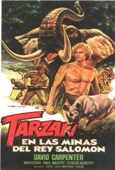 Tarzán en las minas del rey Salomón on-line gratuito