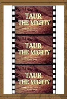 Ver película Taur, rey de la fuerza bruta