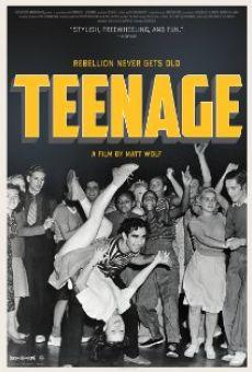 Watch Teenage online stream