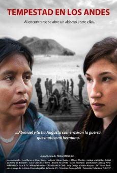 Tempestad en los Andes online
