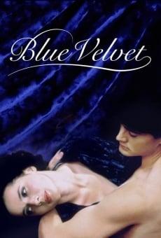 Terciopelo azul online