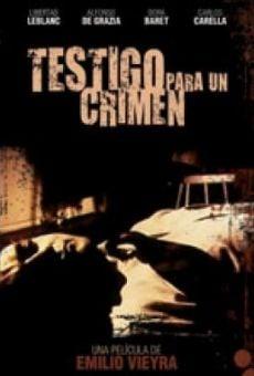 Ver película Testigo para un crimen