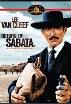 Le retour de Sabata en ligne gratuit