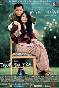 Ver película Thank You, Sir! I Am A Teacher