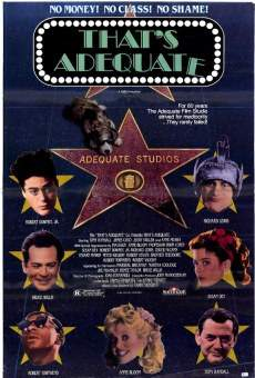 Película: That's Adequate