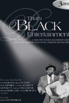 That's Black Entertainment: Westerns