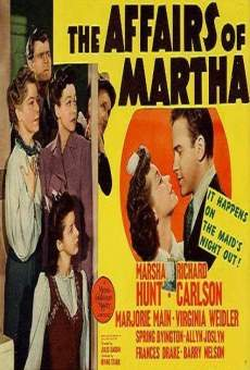 Ver película The Affairs of Martha