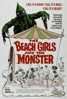 Película: The Beach Girls and the Monster