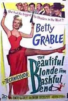 Ver película The Beautiful Blonde from Bashful Bend