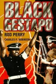 Película: The Black Gestapo