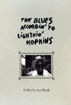 Ver película The Blues Accordin' to Lightnin' Hopkins