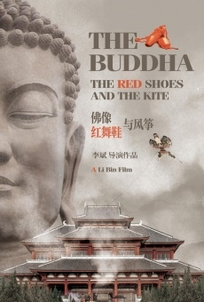 The buddha the red shoes and the kite