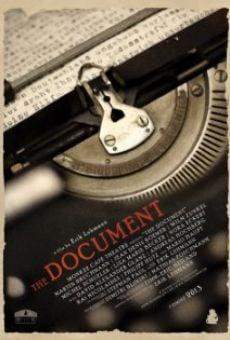 Watch The Document online stream