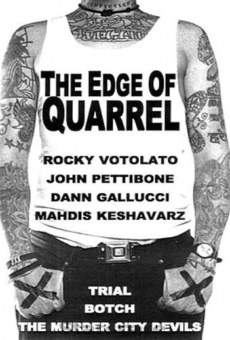 Ver película The Edge of Quarrel
