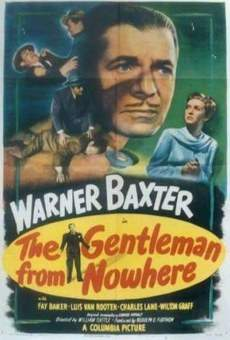 Película: The Gentleman from Nowhere