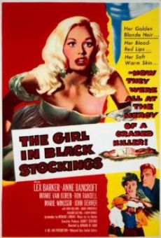 Ver película The Girl in Black Stockings