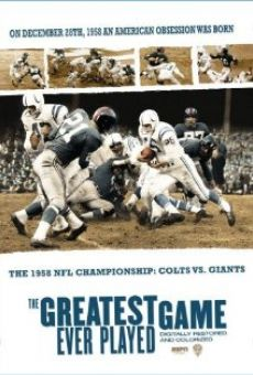 Película: The Greatest Game Ever Played
