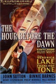 Película: The Hour Before the Dawn