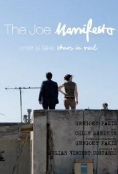 Watch The Joe Manifesto online stream
