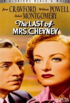The Last of Mrs. Cheyney on-line gratuito