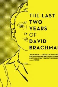 Watch The Last Two Years of David Brachman online stream