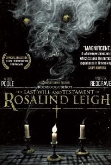 Película: The Last Will and Testament of Rosalind Leigh