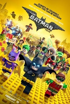 Película: The Lego Batman Movie