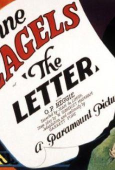 The Letter on-line gratuito