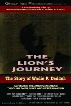 Ver película The Lion's Journey: The Story of Wadie P. Deddeh