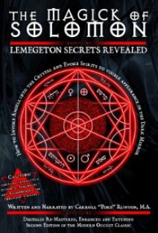Ver película The Magick of Solomon: Lemegeton Secrets Revealed 2010 Edition
