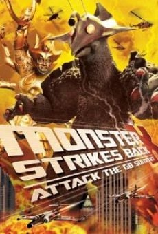 Ver película The Monster X Strikes Back: Attack the G8 Summit