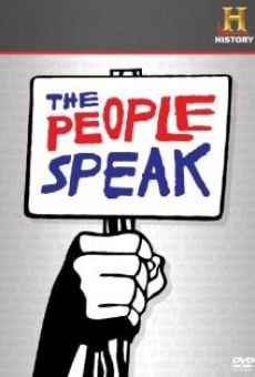 Watch The People Speak online stream