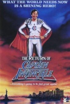 The Return of Captain Invincible on-line gratuito