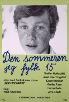 Ver película The Summer I Turned 15