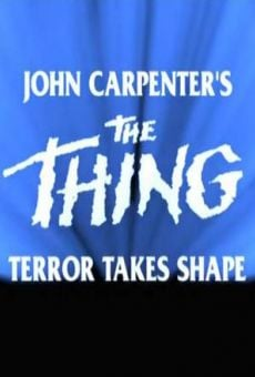 John Carpenter's The Thing: Terror Takes Shape online