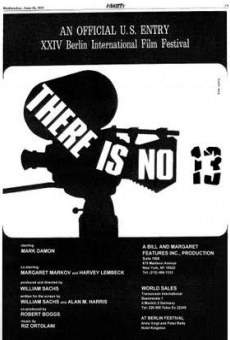 Película: There Is No 13