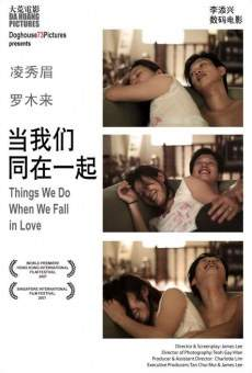 Película: Things We Do When We Fall in Love