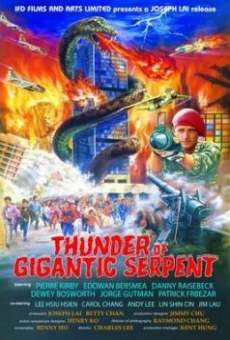 Ver película Thunder of Gigantic Serpent