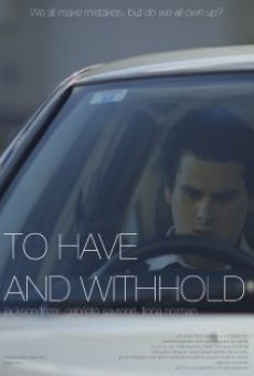 Película: To Have and Withhold