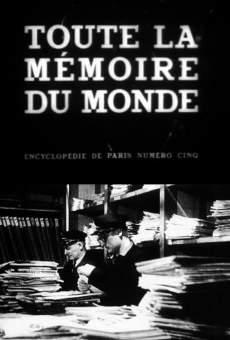 Película: Toda la memoria del mundo