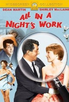 All in a Night's Work on-line gratuito