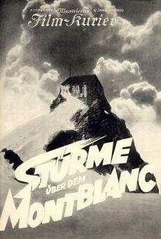 Ver película Tormenta en el Montblanc