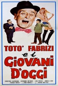 Película: Totó, Fabrizi y los jóvenes de hoy