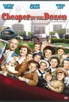 Cheaper by the Dozen on-line gratuito
