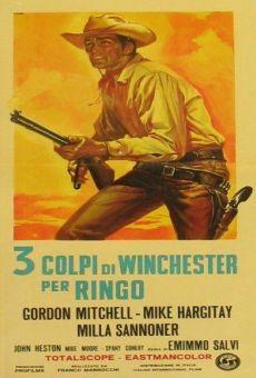 3 colpi di Winchester per Ringo on-line gratuito