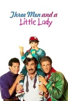 Tres hombres y una pequeña dama online