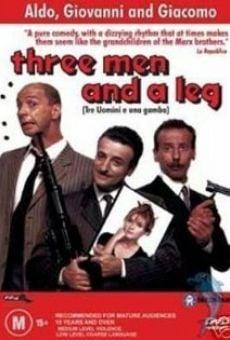 Ver película Tres hombres y una pierna