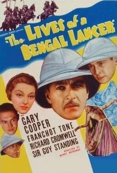 Ver película Tres lanceros bengalíes