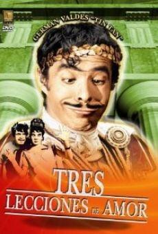 Ver película Tres lecciones de amor