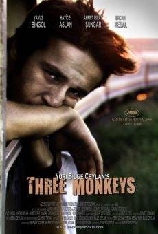 Ver película Tres monos
